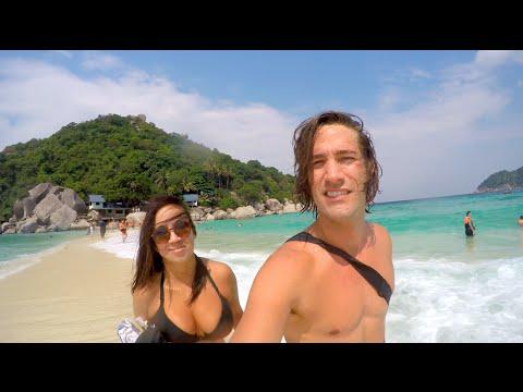 Thailand Travels: Koh Tao, Koh Nang Yuan & Koh Samui - DJI Phantom Drone GoPro [Part 3]