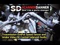 Transmission Doesn't Shift Output Speed Sensor Fault