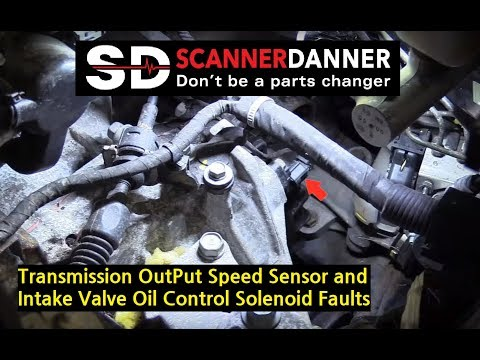 Transmission Doesn't Shift (P0722 - Output Speed Sensor Fault)