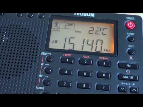 Radio Habana Cuba 15140 Khz GP5 SSB VS Tecsun PL 380