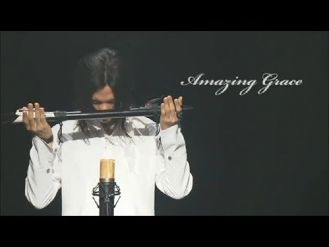 """Amazing Grace"" Mark Akixa - Native American Flute"
