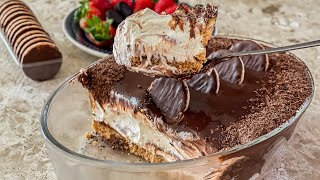 Torta Holandesa Na Travessa – Sem Gelatina E Sem Fogo