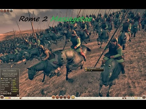 """Rome 2 Total War Massagetae pt 0 """"Intro and looking around"""" 