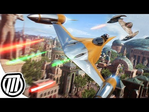 Star Wars Battlefront 2: EPIC STARFIGHTER GAMEPLAY | Dogfighting & Bombing | 2K 60fps