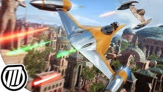 Star Wars Battlefront 2: EPIC STARFIGHTER GAMEPLAY | Dogfighting & Bombing | 2K 60fps