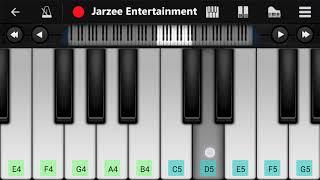 Download Lagu Kyon Ki Itna Pyar (Salman Khan) - Easy Mobile Piano Tuturial | Jarzee Entertainment mp3