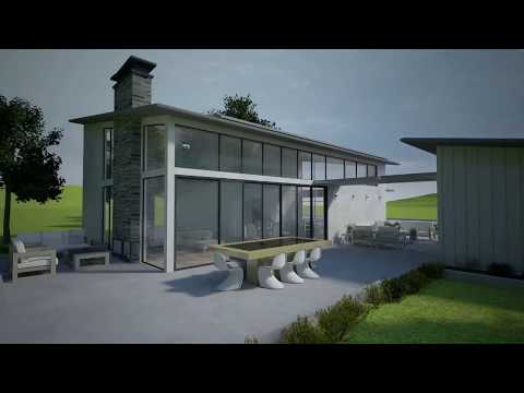 Zero Energy Home Concept 3d Animation