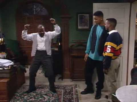 "Geoffrey Dancing to ""Money"" The Fresh prince of Bel Air"