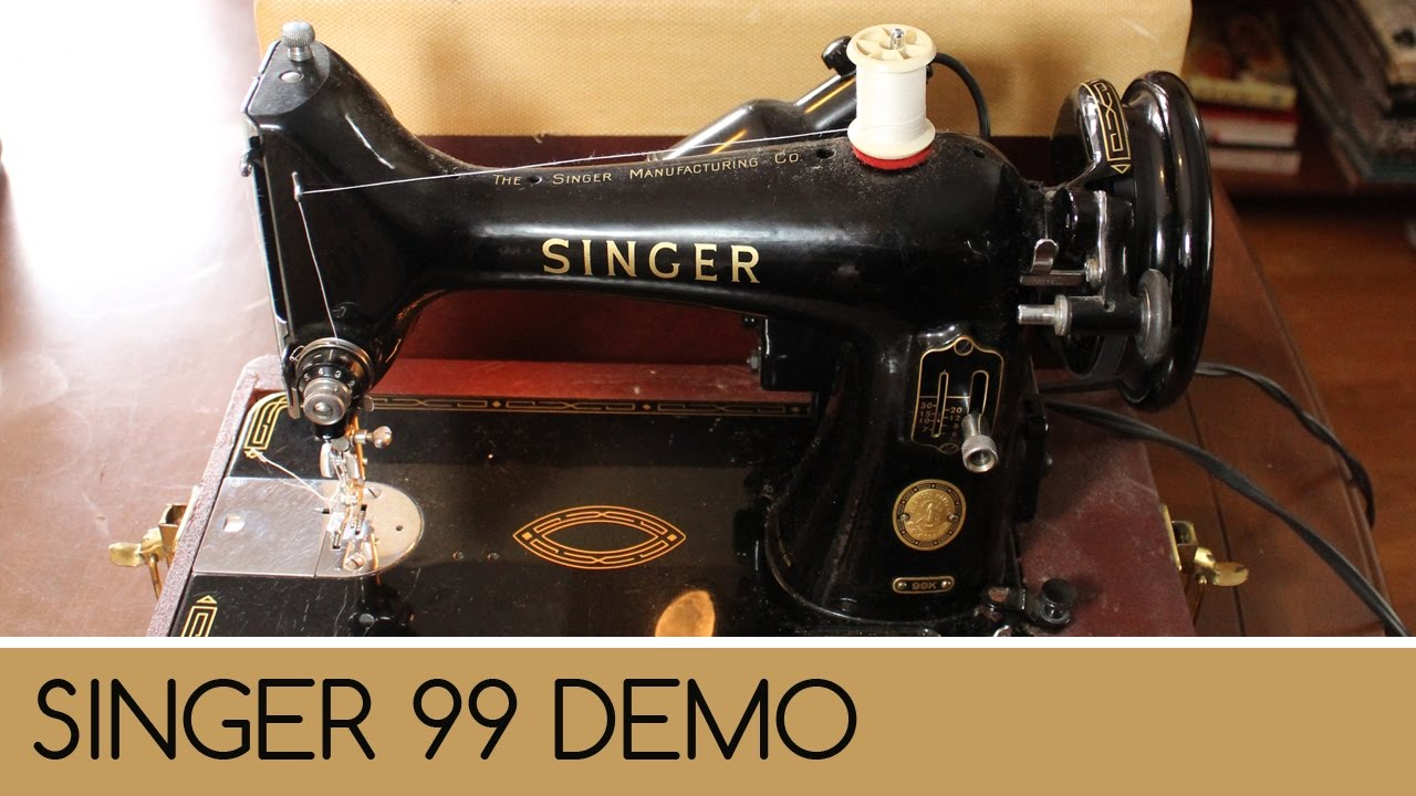 Singer 99 13 Wiring Diagram Free Download Sewing Machine How To Wind And Thread Demonstration Manual At