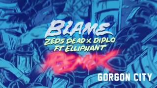 Zeds Dead X Diplo Blame Ft Elliphant Gorgon City Remix