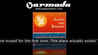 Armin van Buuren Universal Religion 2004 Live from Armada at Ibiza 2004
