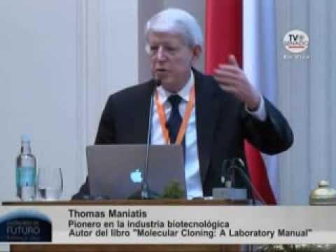 5.- Tom Maniatis, Pionero en la industria biotecnológica.