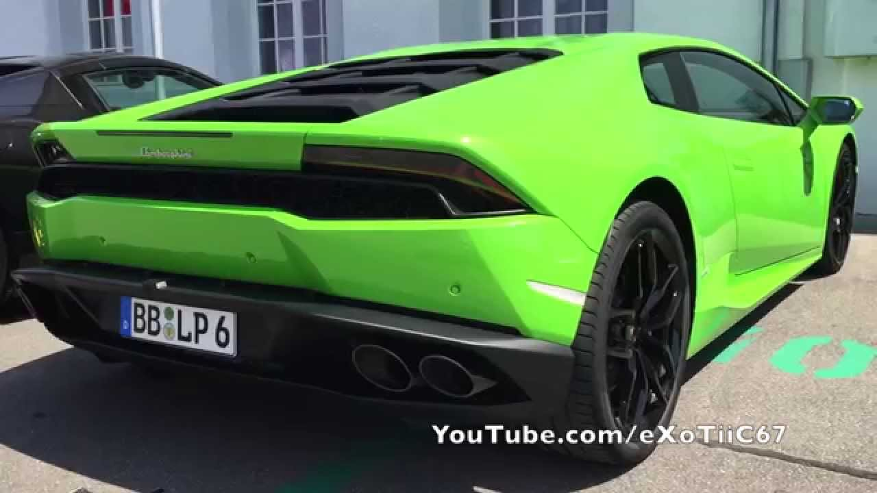 b bligen 2015 lamborghini hurac n verde mantis green spotted motorworld youtube. Black Bedroom Furniture Sets. Home Design Ideas