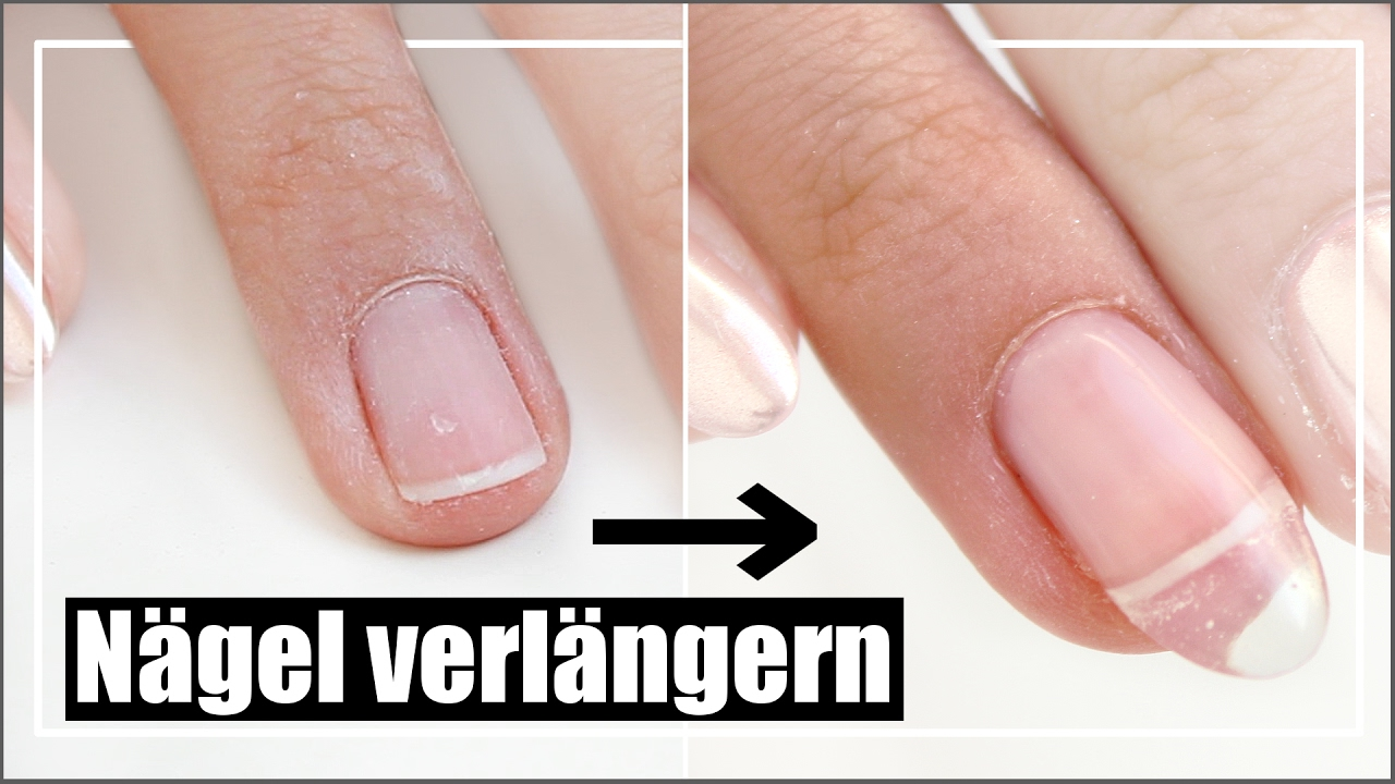 n gel leicht selber verl ngern semilac hardi tutorial nail extension at home english subs. Black Bedroom Furniture Sets. Home Design Ideas
