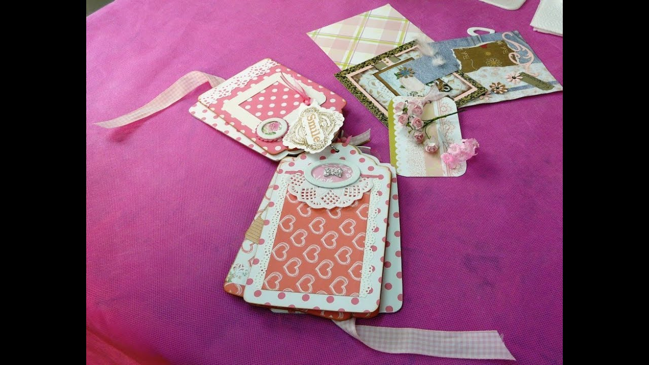 Ideas para decorar un lbum con scrapbooking youtube for Decorar paginas