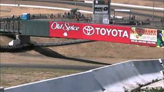 Historic Formula 5000 race cars at Infineon - V8 sounds