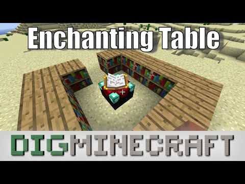 How to Enchant with an Enchanting Table in Minecraft