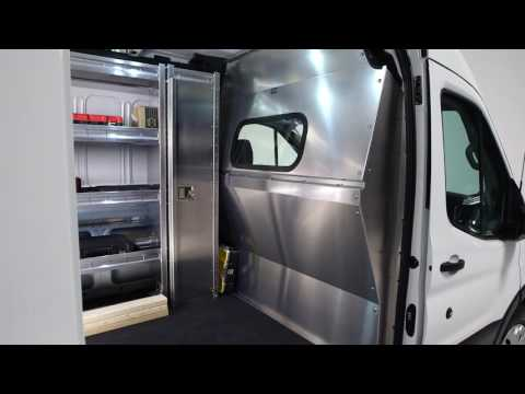Contoured Van Safety Partition by Ranger Design