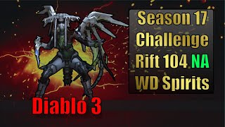Diablo 3 Challenge Rift 104 Map and Strategy Guide (North America)
