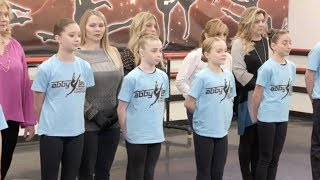 Abby YELLS At Erin During Pyramid | Dance Moms | Season 8, Episode 3