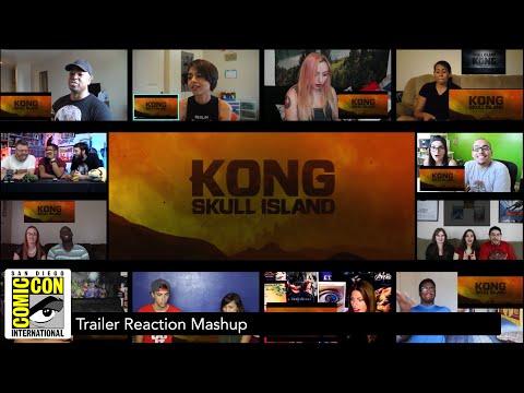 Kong: Skull Island - Comic Con Official Trailer (Reaction Mashup)