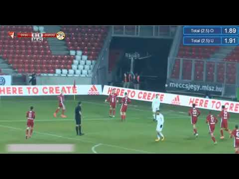 Dorogi vs Debrecen DVSC - first goal - 20/02/2018, Hungary (League Cup)