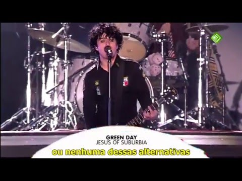 Green Day Jesus of Suburbia Legendado ao vivo