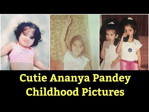 Ananya Pandey Cute Unseen Childhood Pictures Mp3
