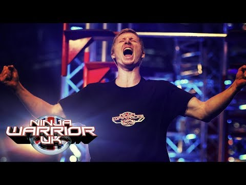 Tim Champion Becomes The First Contestant To Make It To Mount Midoriyama   Ninja Warrior UK