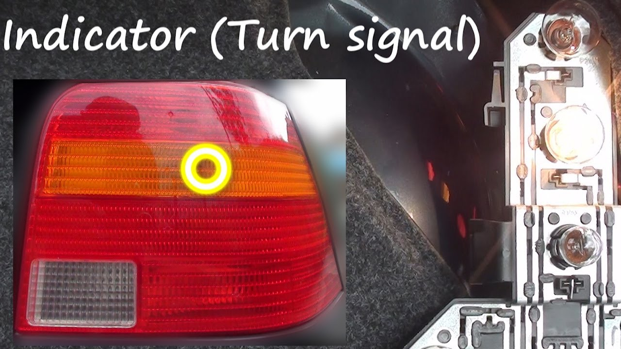 hight resolution of vw golf mkiv how to identify which bulb is which on the rear light cluster brake indicator fog etc youtube