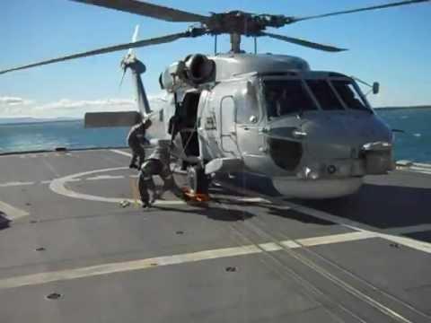 """HMAS ANZAC """"Action Seahawk"""""""