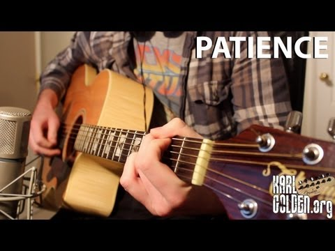 'PATIENCE' - Guns N' Roses - Full Instrumental Cover - Performed by Karl Golden (HQ)