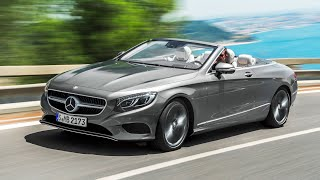 Mercedes S Class Cabriolet REVIEW INTERIOR Driving Mercedes S500 Cabrio Review CARJAM TV HD 2016
