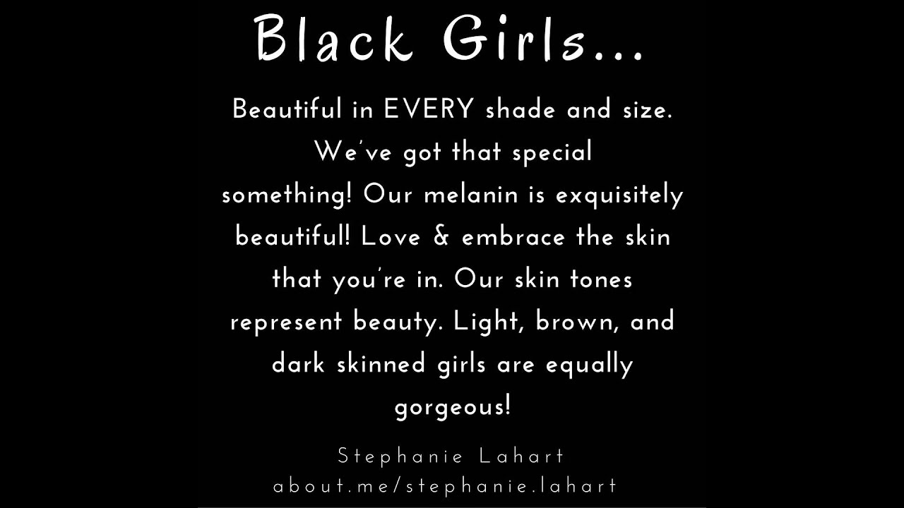 Girl Empowerment Quotes Quotes For Black Girls & Black Womenempowering And Inspiring