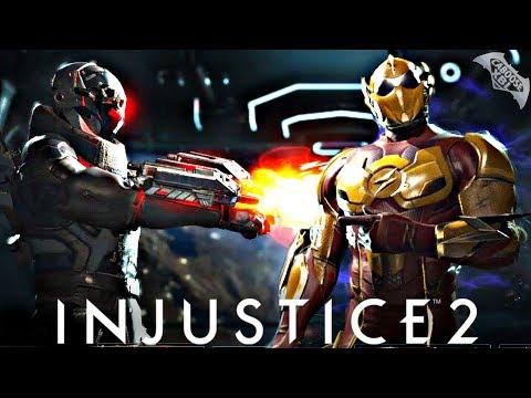 Injustice 2 Online - KID FLASH VS A ZONER!