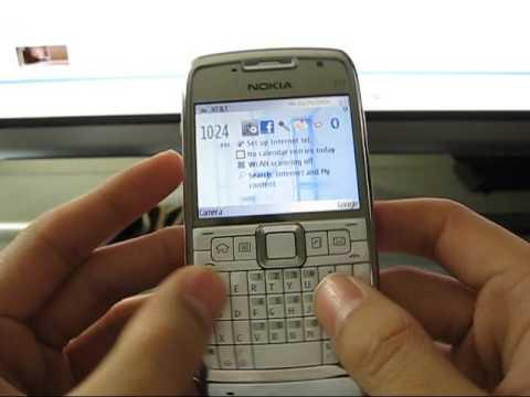 Nokia E71 Hardware
