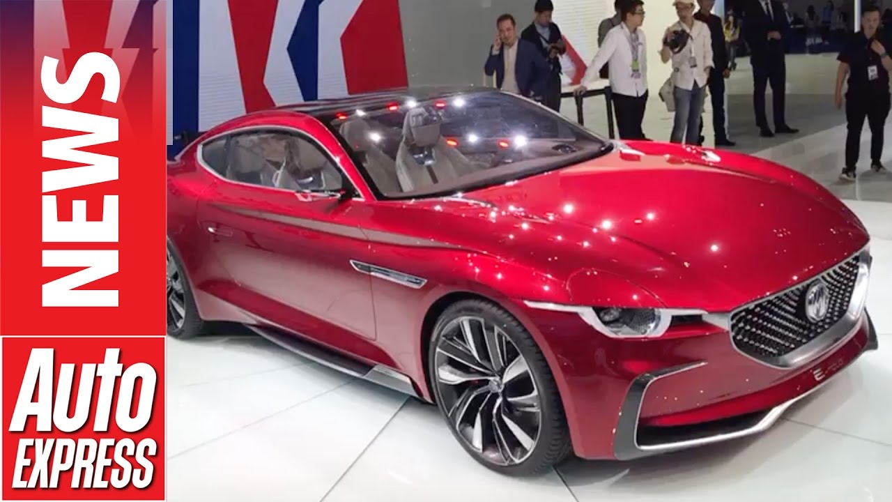 mg has a new sports car  e motion concept revealed in shanghai