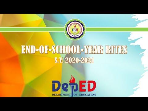 2021 Virtual Graduation of San Pedro-Villa Concepcion Elementary School