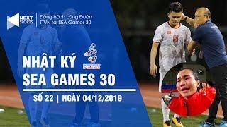 Nhật ký SEA Games 30 tối 4/12 | Quang Hải chia tay SEA Games 30 | NEXT SPORTS
