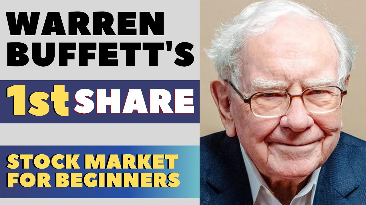 Warren Buffett's First Share   Stock Market for Beginners 2020   Neeraj Arora