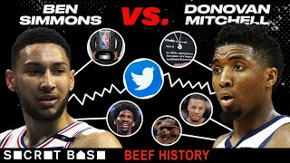 The Ben Simmons-Donovan Mitchell beef over Rookie of the Year became a feast for fans and brands