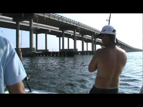 Fishing with Brad - Bull Reds (Destin Pass)