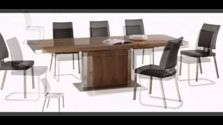 Modern Wooded Dining Table And Chairs