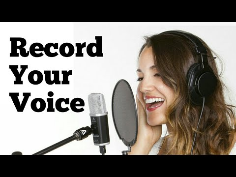 HOW TO VOICE RECORD FOR YOUTUBE VIDEO WITH MOBILE | YOU TUBE के लिए VOICE रिकॉर्ड कैसे करें #HINDI