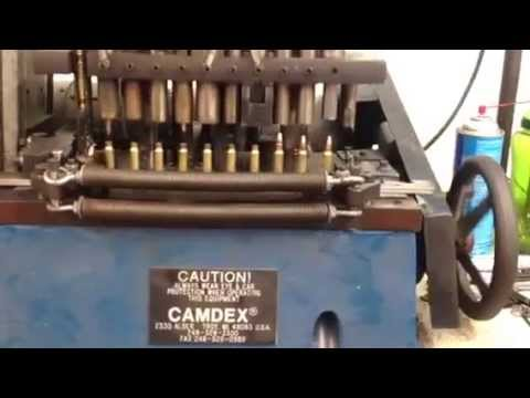 automated ammo loading machine