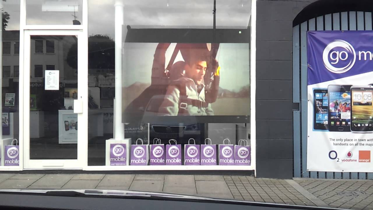 Window display solutions by Glimm