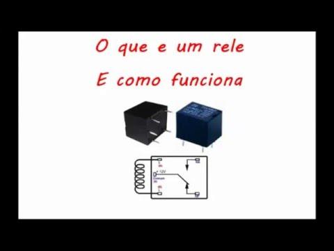 O que e um Relé e como funciona passo a passo e demonstração pratica #1