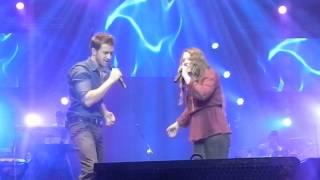 Dónde está el amor - Pablo Alborán y Jesse & Joy en Movistar Arena.