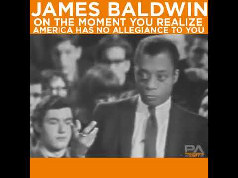 The Indian is you James Baldwin.. How many ways can Eye show you