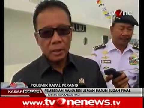 Pemberian Nama KRI Usman Harun Sudah Final